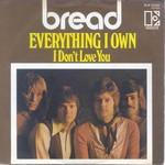 Bread everything i own lyrics